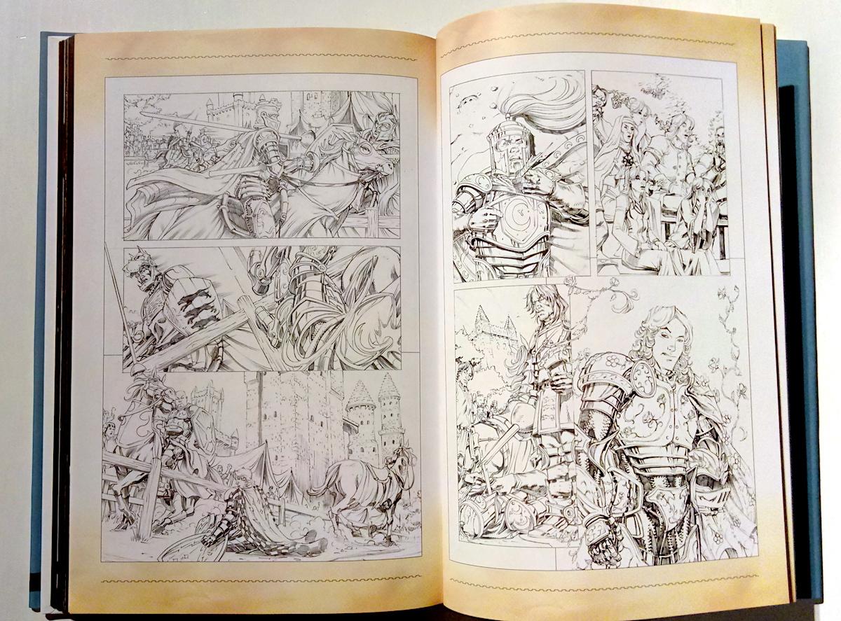 Эскизы героев Игры престолов Книга 2