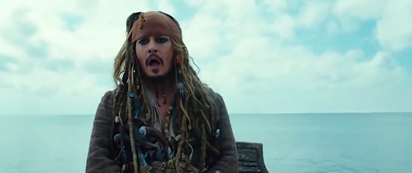 Капитан Джек Воробей в Пиратах Карибского Моря